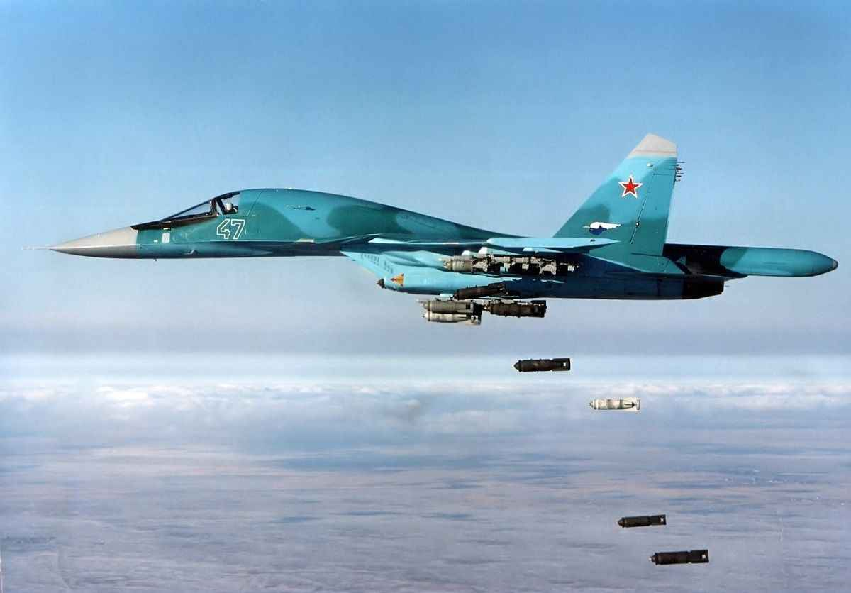 Russian Jets Bombed Syrian Civilian Makeshift Camps