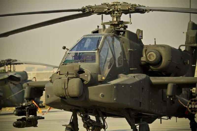 Two American Helicopter Gunships Attacked a Syrian Army Checkpoint