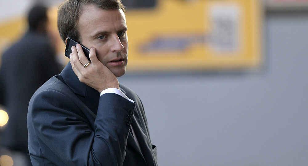 Falafel Listens on the Macron Berri Phone Call